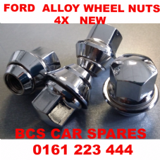 FORD  FOCUS  WHEEL NUTS  4X   NEW NEW      2001 - 2013